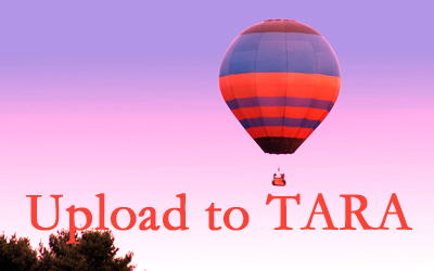 Link to information about how to upload to TARA – Opens in a new tab