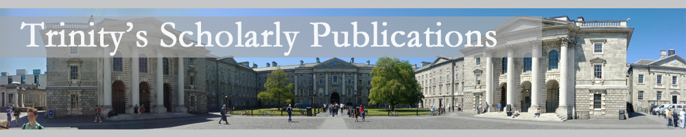 Link to Scholarly publications published by researchers at Trinity College Dublin – Opens in a new window